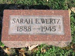 Sarah E Wertz