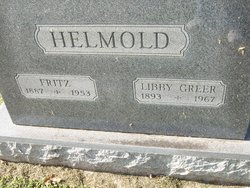"Elizabeth Mita ""Libby"" <I>Greer</I> Helmold"