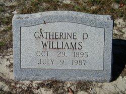 Catherine D <I>Jump</I> Williams