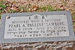 """Pearl A """"Pauline"""" <I>Klopper</I> Samberg"""