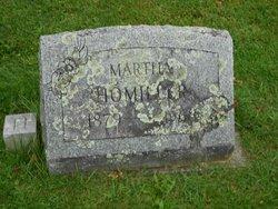 Martha D <I>Leary</I> Homiller