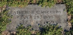 Catherine C McCurdy