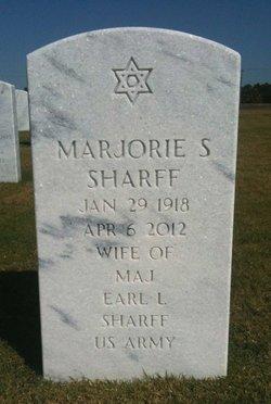 Marjorie S Sharff