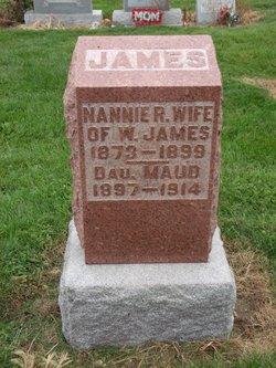 Nannie R. <I>Anderson</I> James