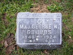 Maj George Washington Grubbs