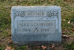 Alice Sarah <I>DeHaven</I> Crawford