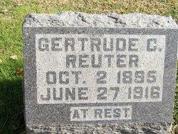 Gertrude C Reuter
