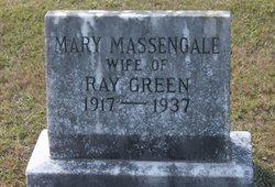 Mary <I>Massengale</I> Green