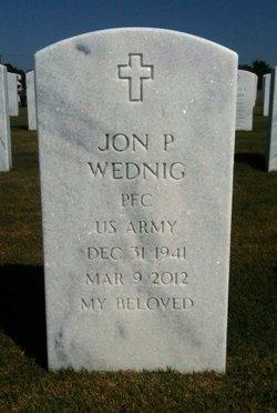 Jon P Wednig