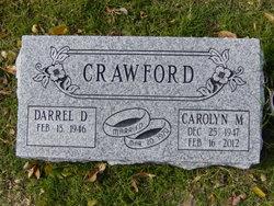 Carolyn Martha <I>Johnson</I> Crawford