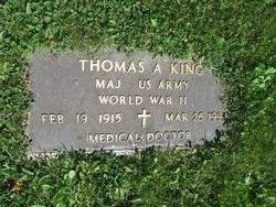 Maj Thomas A. King