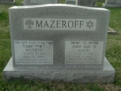 Mildred <I>Schneiderman</I> Mazeroff