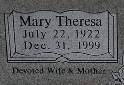 Mary Theresa <I>Schmidig</I> Bresler