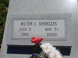 Ruth I Shields