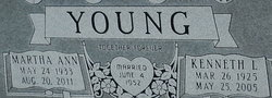 Martha Ann <I>Keltner</I> Young