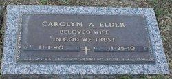 Carolyn A Elder