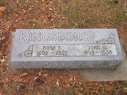 Anna F. <I>Wiese</I> Kingsboro