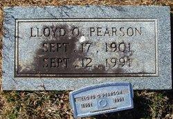 Lloyd O Pearson