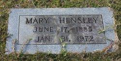 Mary Hensley
