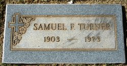 Samuel F Turner