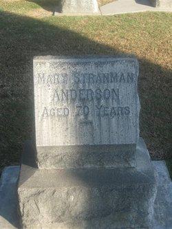 Mary <I>Stranman</I> Anderson