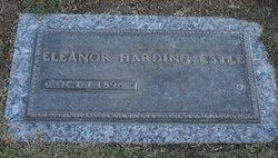 Eleanor <I>Harding</I> Estle