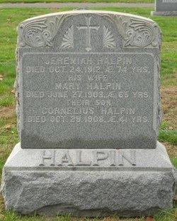 Mary <I>O'Brien</I> Halpin