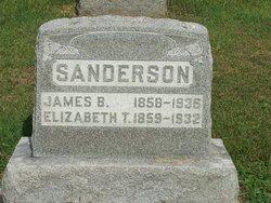 Elizabeth T <I>Goshorn</I> Sanderson