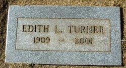 Edith L <I>Kitchell</I> Turner