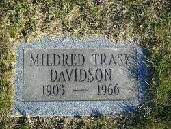 Mildred Evelyn <I>Trask</I> Davidson