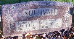 Edith A <I>Sturm</I> Sullivan