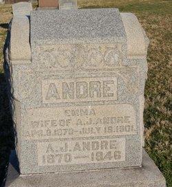 Emma <I>Wheeler</I> Andre