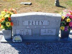 James E Petty