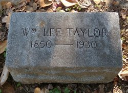 William Lee Taylor