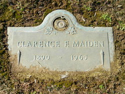 Clarence F. Maiden