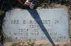 Lee Bernard Rousset, Jr