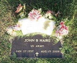 John B Haire