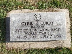 Pvt Cyril R Curry