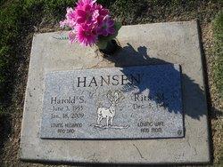 Harold S. Hansen