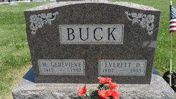 M Genevieve Buck