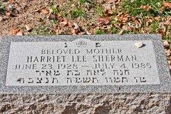 Harriet Lee Sherman