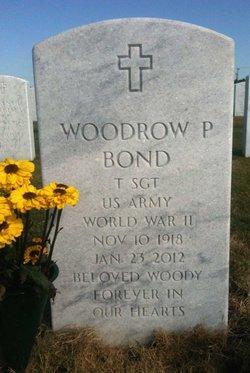 """Woodrow P """"Woody"""" Bond"""