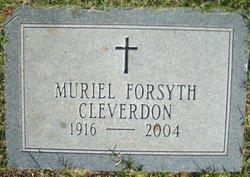 Muriel Ogilvie <I>Forsyth</I> Cleverdon