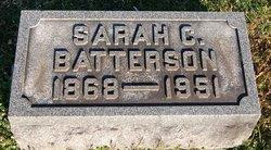 Sarah C <I>Sikes</I> Batterson