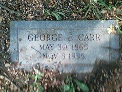George E Carr