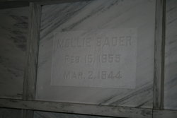 Mollie <I>Lewis</I> Bader-Freeman