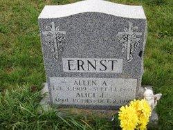 Allen A Ernst