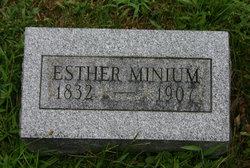 "Esther ""Hetty"" <I>Krouse</I> Minium"