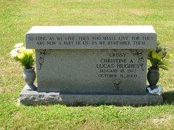 """Christine A. """"Crissy"""" <I>Lucas</I> Hughes"""
