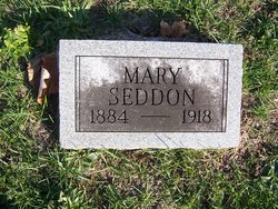 Mary <I>Edwards</I> Seddon